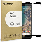 3D Curved Tempered Glass Screen Protector - Google Pixel 2 XL - Black